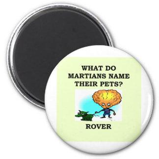 martian joke fridge magnets