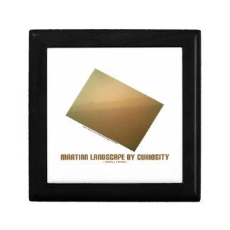 Martian Landscape By Curiosity (Mars Landscape) Jewelry Box