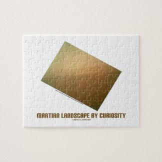 Martian Landscape By Curiosity (Mars Landscape) Jigsaw Puzzle