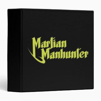 Martian Manhunter Logo 3 Ring Binders