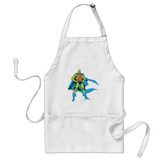 Martian Manhunter Poses Adult Apron