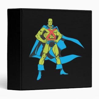 Martian Manhunter Poses Vinyl Binders
