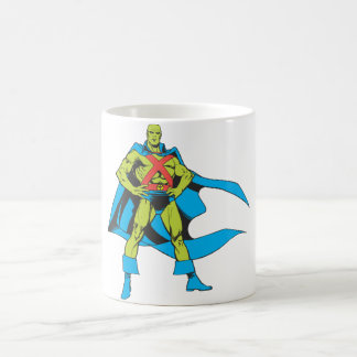 Martian Manhunter Poses Classic White Coffee Mug