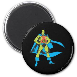 Martian Manhunter Poses 2 Inch Round Magnet