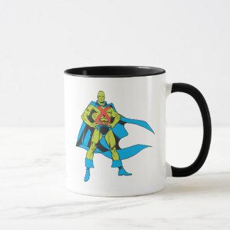 Martian Manhunter Poses Mug