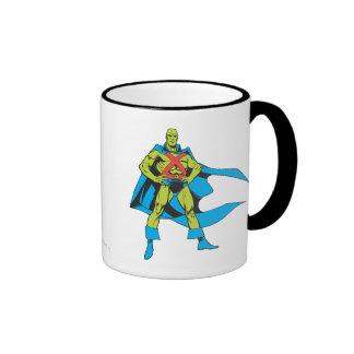 Martian Manhunter Poses Ringer Mug