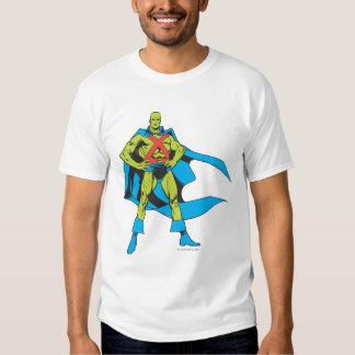 Martian Manhunter Poses T-shirts