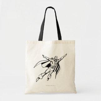 Martian Manhunter Soars 3 Budget Tote Bag