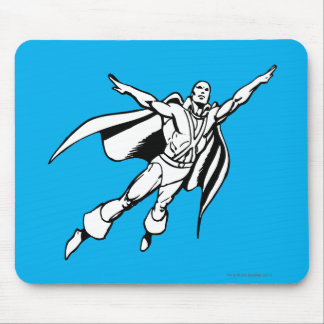 Martian Manhunter Soars 3 Mouse Pad