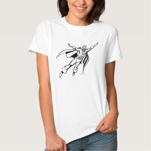 Martian Manhunter Soars 3 T Shirt
