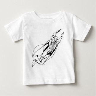 Martian Manhunter Soars 4 Baby T-Shirt