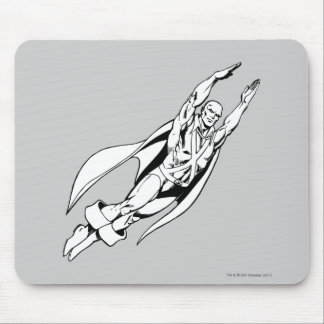 Martian Manhunter Soars 4 Mouse Pads