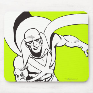 Martian Manhunter Soars 5 Mouse Pad