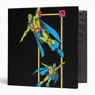 Martian Manhunter Soars Vinyl Binder