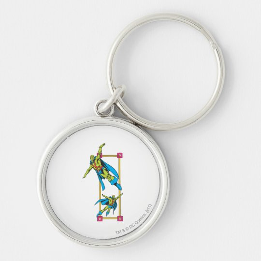 Martian Manhunter Soars Keychain