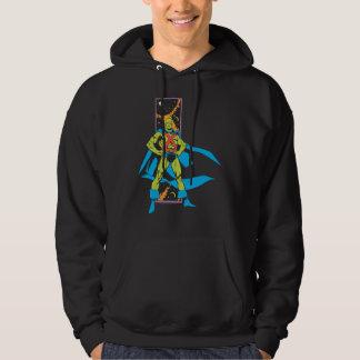 Martian Manhunter & Space Backdrop Hoodie