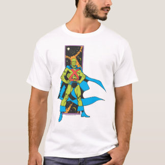 Martian Manhunter & Space Backdrop T-Shirt