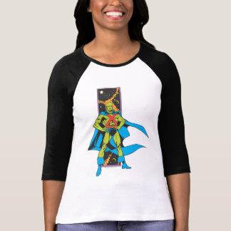 Martian Manhunter & Space Backdrop Tee Shirts