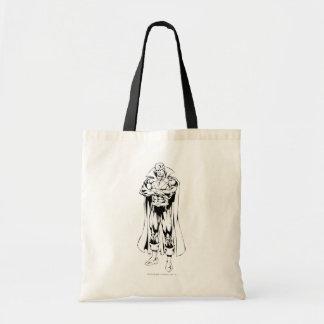 Martian Manhunter Standing Outline Bags
