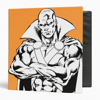 Martian Manhunter Standing Outline Binder