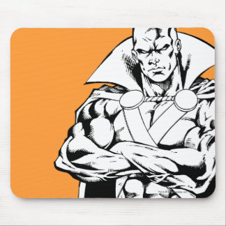 Martian Manhunter Standing Outline Mouse Pad
