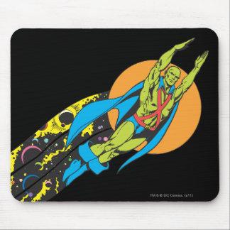 Martian Manhunter Takes Flight Mouse Pad