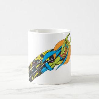 Martian Manhunter Takes Flight Coffee Mugs