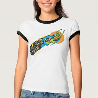 Martian Manhunter Takes Flight T-Shirt