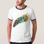 Martian Manhunter Takes Flight Tshirts
