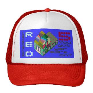 MARTIAN/MARS Red-5 Trucker Hat