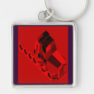 MARTIAN/MARS Space Truckin Conventional Cabs Keychain