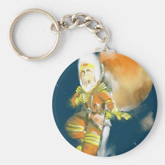 Martian Moon Keychain