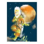 Martian Moon Postcards