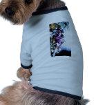 Martian que nos miran camisa de mascota
