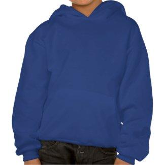 Martian Representative Hooded Sweatshirt For Kids