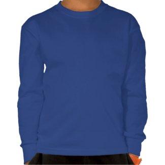 Martian Representative Kid's Long Sleeve T-Shirt