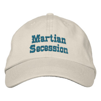 Martian Secession Baseball Cap
