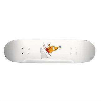 Martian Skier Custom Skateboard