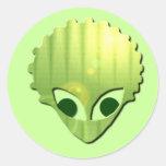 Martian Sticker