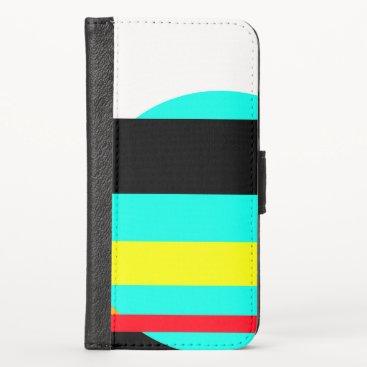 Martian sunset iPhone XS wallet case