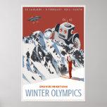 Martian Winter Olympics Poster