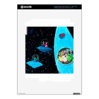 Martians and Cows Skins For iPad 3
