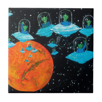 Martians are Angry Tile