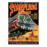 Martians Go For a Ride Card