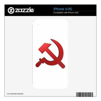 Martille y stickle skins para iPhone 4S
