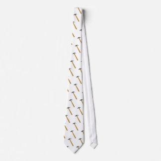 martillo del carpintero corbata personalizada