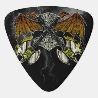 Martillo del Thor de las guitarras de dioses Plectro