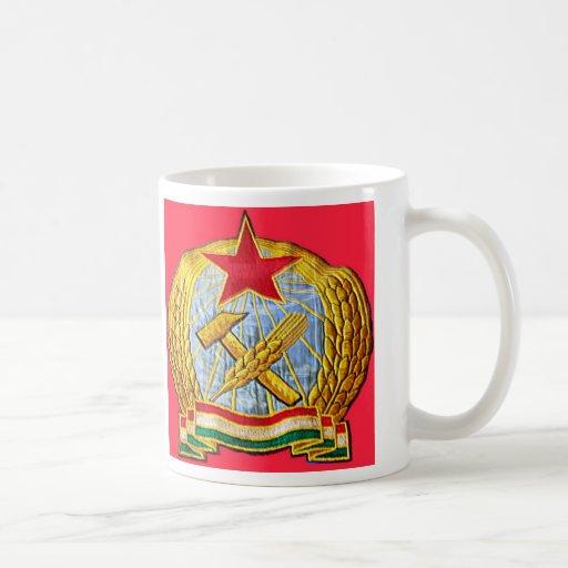 Martillo, hoz y estrella soviética tazas