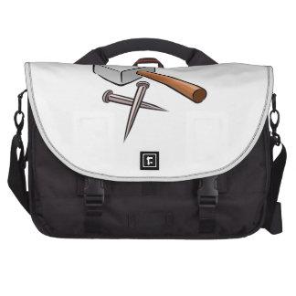 Martillo y clavos bolsas para portatil