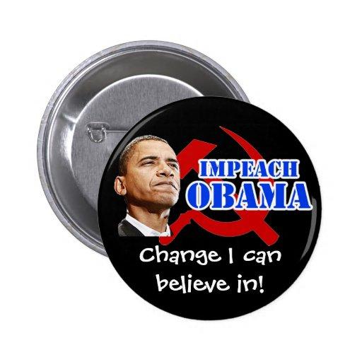 ¡Martillo y hoz, cambio de Obama que puedo creer a Pins